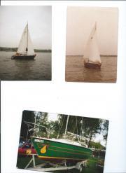 Segelboot Minitonner TIKI21
