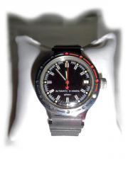 Selten schwarze Armbanduhr von Wostok