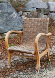 Sessel-Stuhl-Vintage-