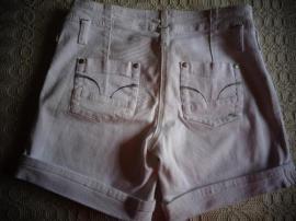 Damenbekleidung - Shorts Jeans-Shorts weiß Gr M