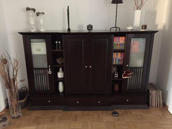 sideboard dunkelbraun neu und gebraucht kaufen bei. Black Bedroom Furniture Sets. Home Design Ideas