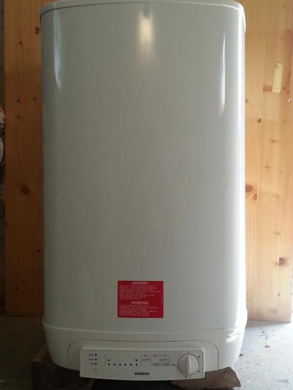 siemens dg 80025 warmwasserspeicher boiler 80l in. Black Bedroom Furniture Sets. Home Design Ideas