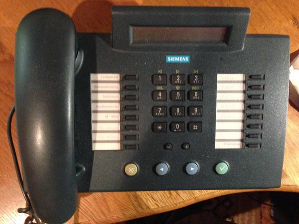 Siemens ISDN-Festnetztelefon - Wörth - Siemens Profiset 71 ISDN-Telefon zu verkaufen.Technisch in einwandfreiem Zustand, voll funktionsfähig!Kaum Gebrauchsspuren.Versandkosten: 5 EUR - Wörth