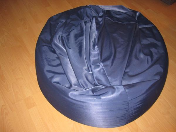 sitzsack blau gebraucht kaufen nur 4 st bis 70 g nstiger. Black Bedroom Furniture Sets. Home Design Ideas