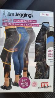 Slim Jeans Leggins 3er Pack