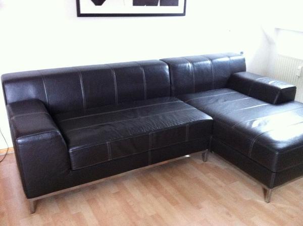 sofa echtleder in bregenz polster sessel couch. Black Bedroom Furniture Sets. Home Design Ideas