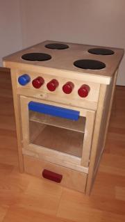 Spielzeugherd Holz