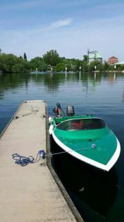 Sportboot boot angelboot