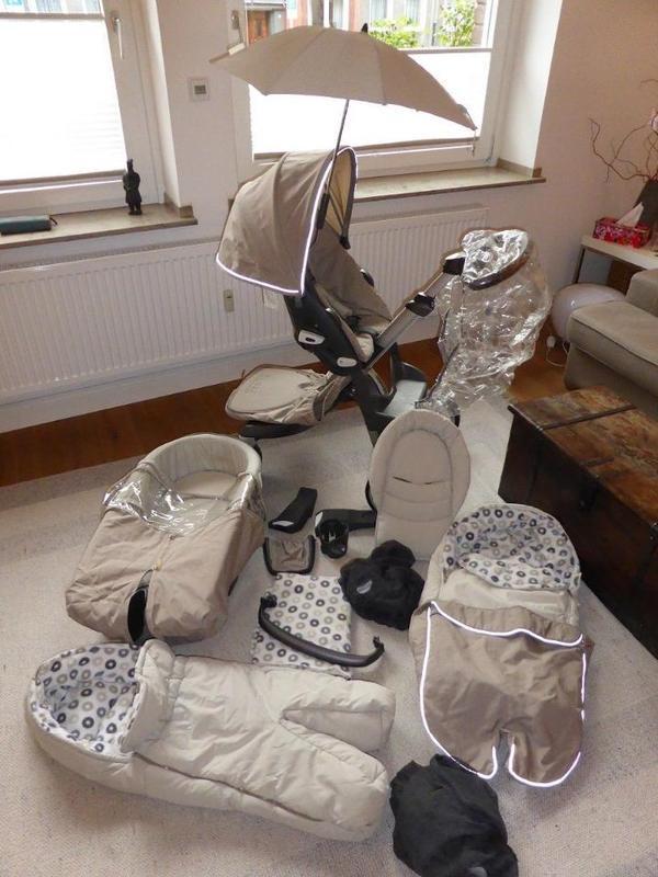 stokke xplory kinderwagen komplettset top zustand in n dlingen kaufen und verkaufen ber. Black Bedroom Furniture Sets. Home Design Ideas
