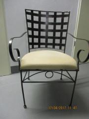 Stuhl Eisen - Armlehnstuhl