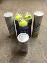 Tennisbälle 6 Dosen Turnier Qualität