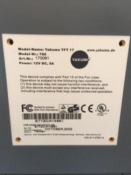 TFT Flachbildschirm Yakumo 17 Zoll: Kleinanzeigen aus Starnberg - Rubrik Monitore, Displays