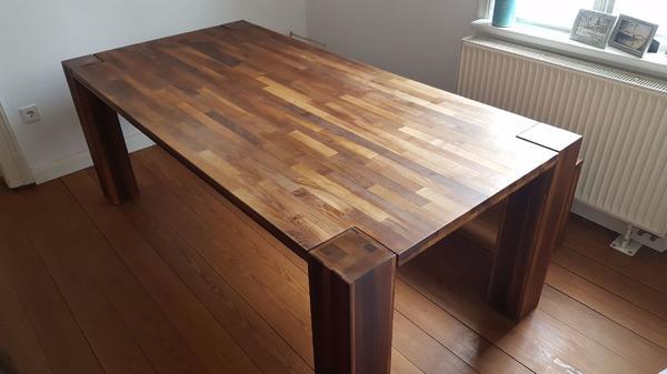 esstisch tisch wei hoch gebraucht kaufen nur 3 st bis. Black Bedroom Furniture Sets. Home Design Ideas