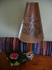 Tischlampe - antik -