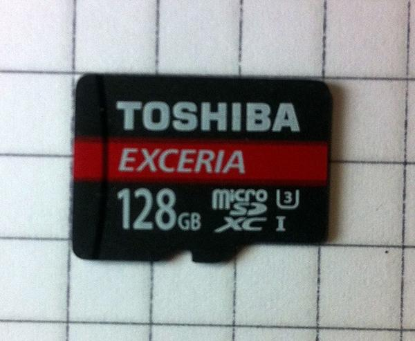 Toshiba Micro SDXC Speicherkarte 128 GB - Pforzheim Wilferdinger Höhe - Toshiba Exceria, mit AdapterHergestellt in JapanLesegeschwindigkeit: 64 MB/sSchreibgeschwindigkeit: 30,2 MB/sKaum gebrauchtmit Rechnung und Garantie ( Kaufdatum: 17.02.2017 )Nur an Selbstabholer - Pforzheim Wilferdinger Höhe