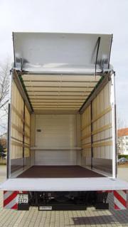 Transporter mit Fahrer