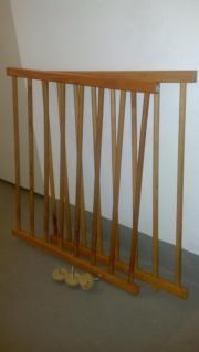 Treppenschutzgitter Kiefer Holz