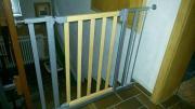 Treppenschutzgitter mit Verlängerung