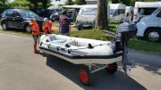 Urlaubsangebot: komplettes Schlauchboot
