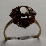 Verk Schmuck Granat Ring