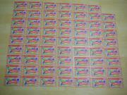 Verkaufe 62 Rewe Mitmach-Sticker je