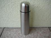 Verkaufe Isolierflasche Farbe silber aus