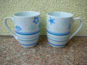 Verkaufe Porzellan-Tassen Becher Weihnachts- und