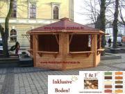 Verkaufshütte Markthütte Weihnachtsmarkthütte