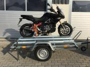 Vermietung PKW - Motorradanhänger Max Beladung