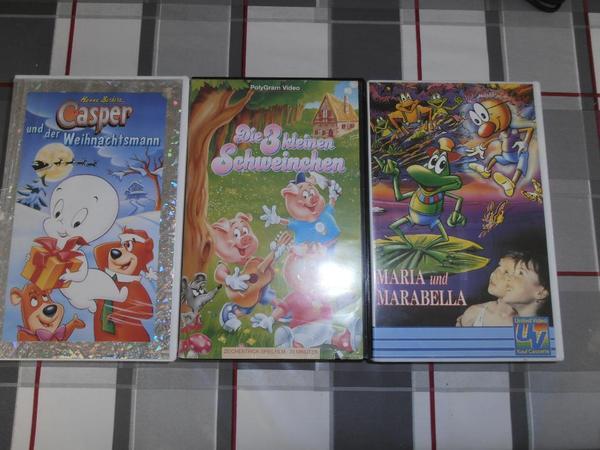 VHS Videofilme für Kinder