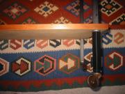 Vierkantrohr 50er Jahre Roll-tischchen