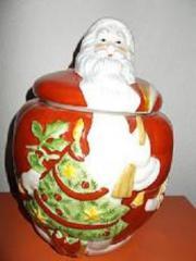 Villroy und Boch Santa Gebäckdose