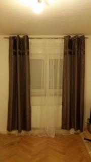 Vorhang mit Stange