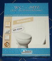 WC sitz mit Holzkern - Sanitop