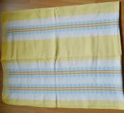 Web-Tischdecke 120 x 150 cm gelbgrundig