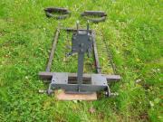 Wiesenschleppe für Kleintraktor