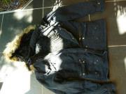 Winterjacke schwarz XL