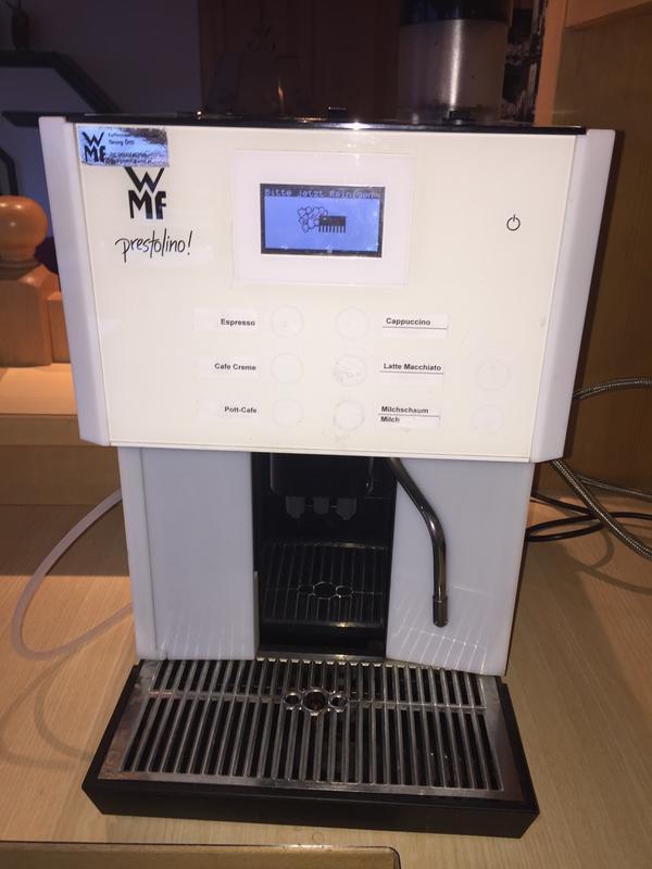 wmf prestolino in lech kaffee espressomaschinen kaufen und verkaufen ber private kleinanzeigen. Black Bedroom Furniture Sets. Home Design Ideas