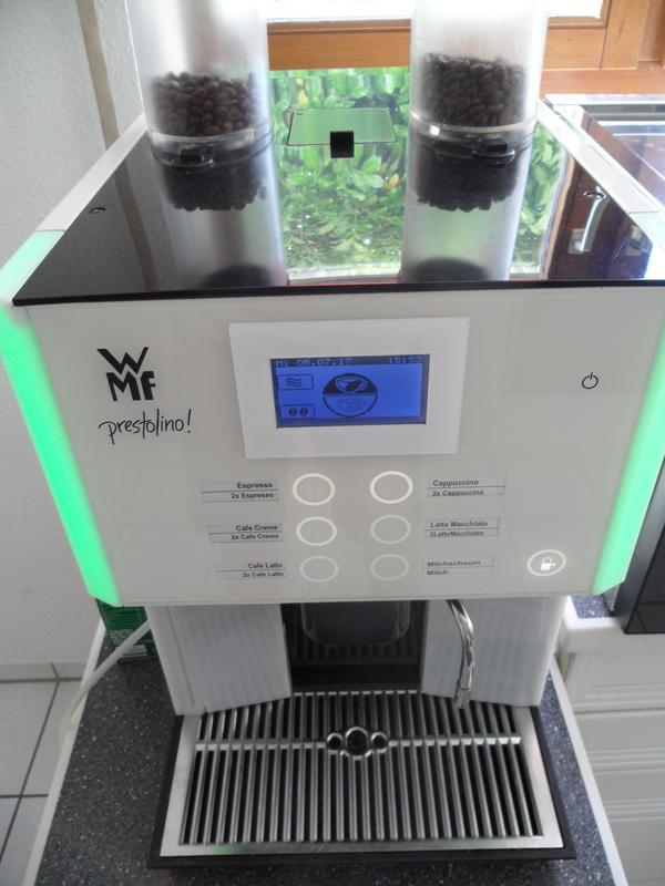 wmf prestolino gastro kaffeevollautomat versand m glich in bietigheim bissingen gastronomie. Black Bedroom Furniture Sets. Home Design Ideas