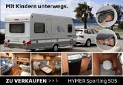 Wohnwagen HYMER Sporting 505