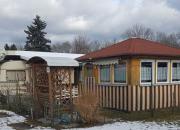 Wohnwagen mit festausgebautem