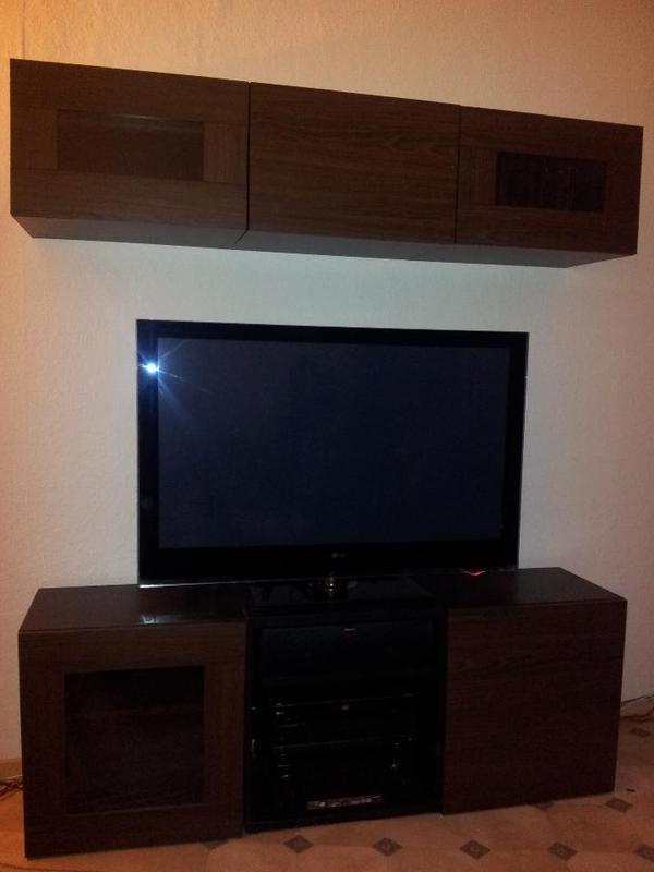 wohnwand ikea besta in lampertheim ikea m bel kaufen und. Black Bedroom Furniture Sets. Home Design Ideas