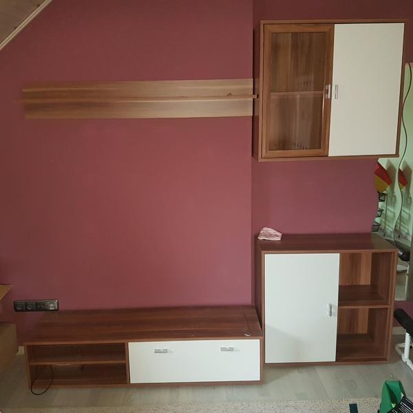 wohnwand modern gebraucht kaufen nur 4 st bis 60 g nstiger. Black Bedroom Furniture Sets. Home Design Ideas