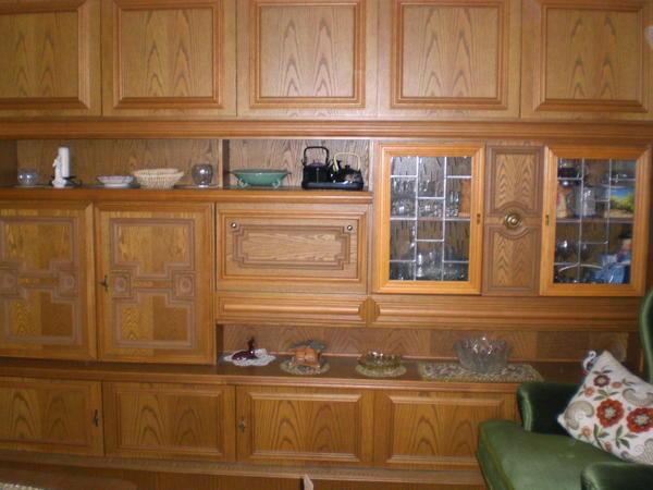 Wohnzimmerschrank eiche massivholz in pommelsbrunn wohnzimmerschr nke anbauw nde kaufen und - Wohnzimmerschrank eiche rustikal ...