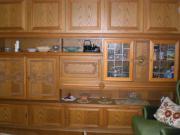 Wohnzimmerschrank Eiche Massivholz