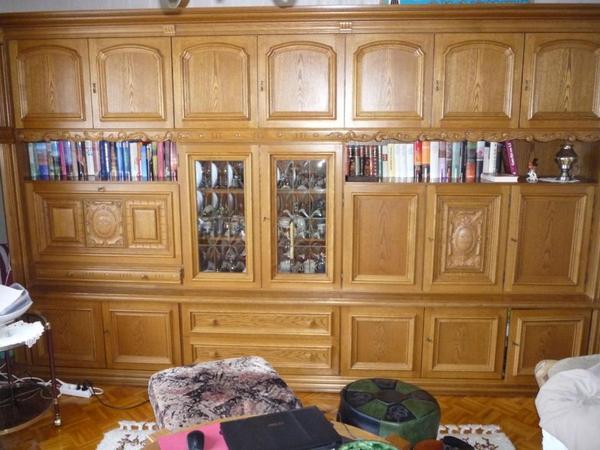 Wohnzimmerschrank Eiche Rustikal | Recybuche.Com