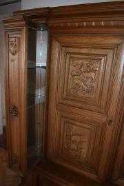 Wohnzimmerschrank Eiche Rustikal Mit Besonderer Einteilung Kleinanzeigen Aus Oftersheim