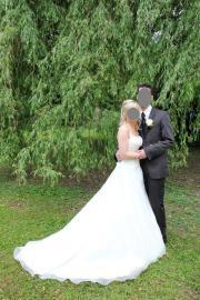 Zartes Hochzeitskleid (Größe