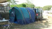 Zelt oder Vorzelt