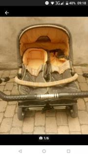 Zwillingskinderwagen zx ii